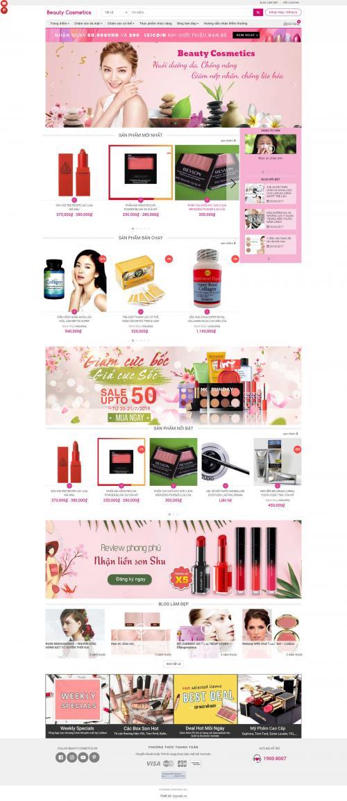 Mỹ phẩm Beauty cosmetics