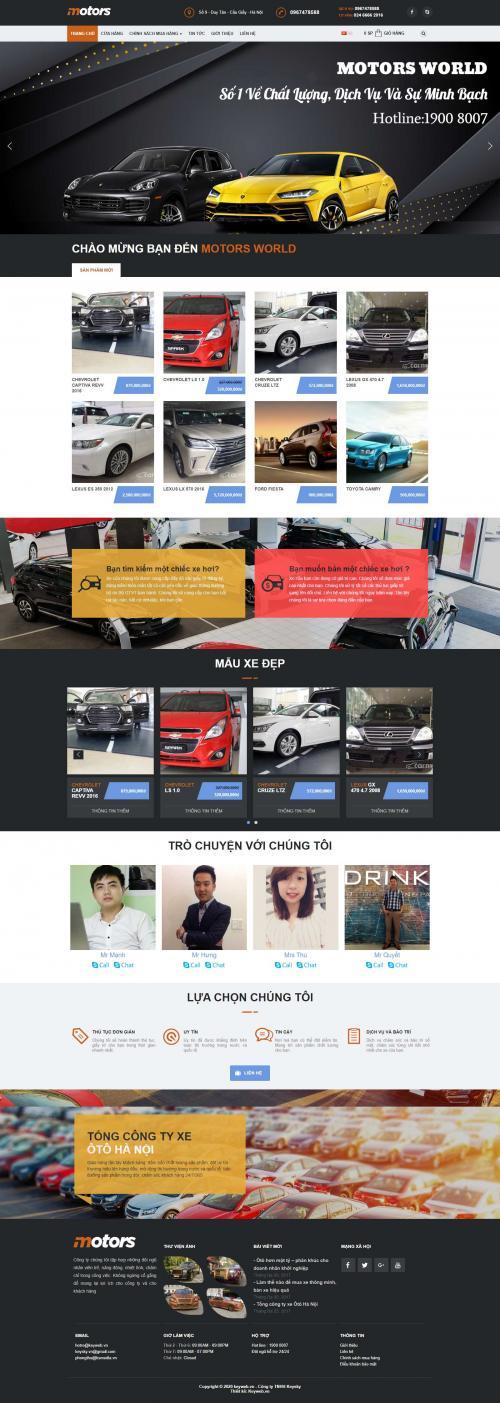Website Motor