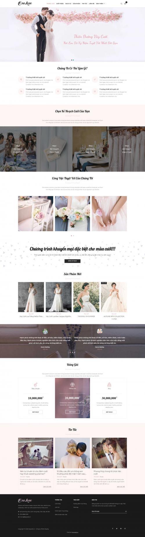 Váy cưới Ảnh Cưới OneLove