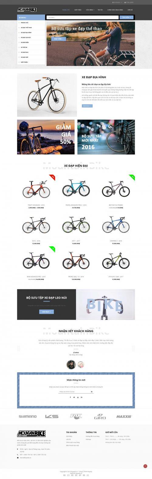 Xe đạp MountainBike