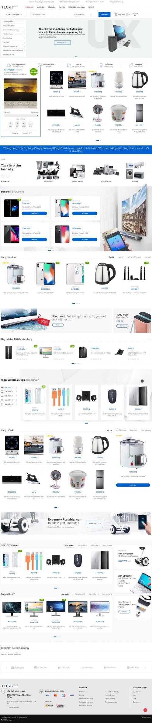 Điện tử kỹ thuật số Tech Market