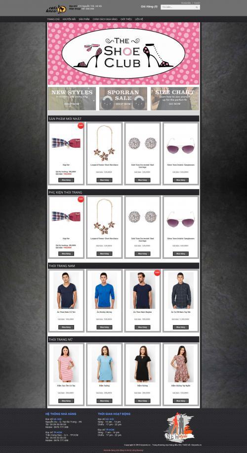 Thiết kế Website Thời trang & mỹ phẩm-8