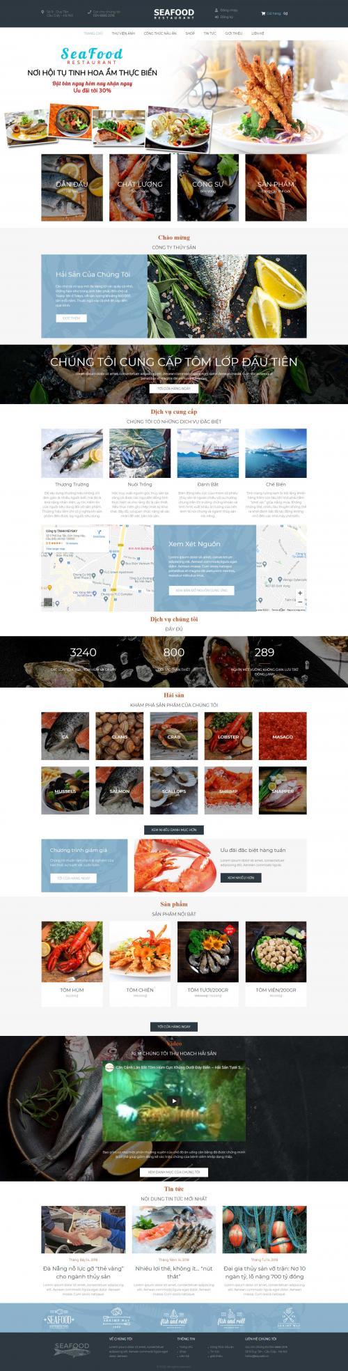 Hải sản seafood