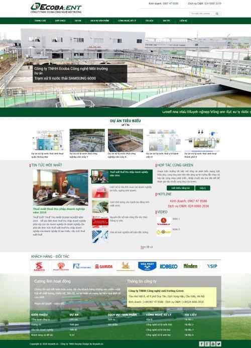 Công nghệ môi trường Ecobaent