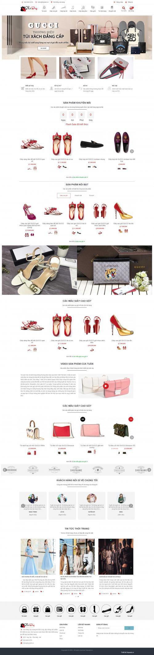 Shop phụ kiện thời trang ShoeBag