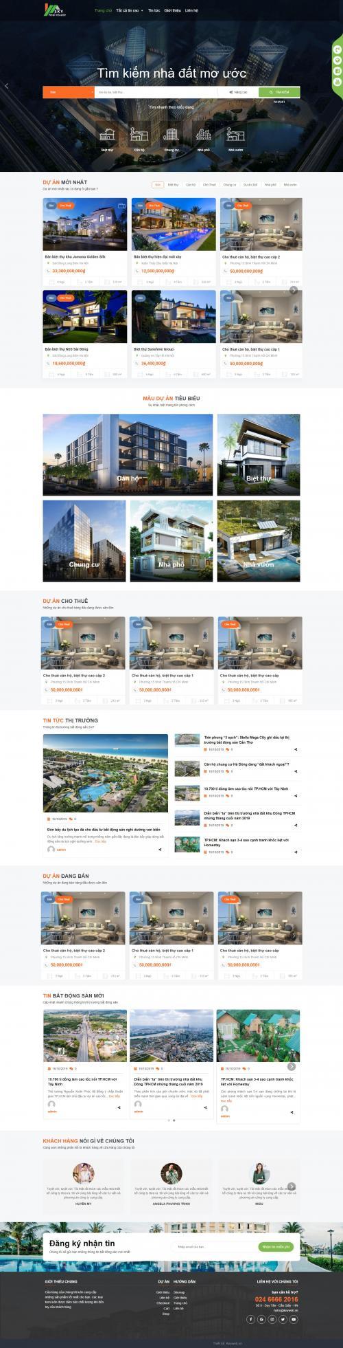 Bất động sản Sky Real Estate