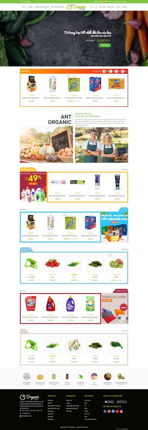 Thực phẩm Organic Food