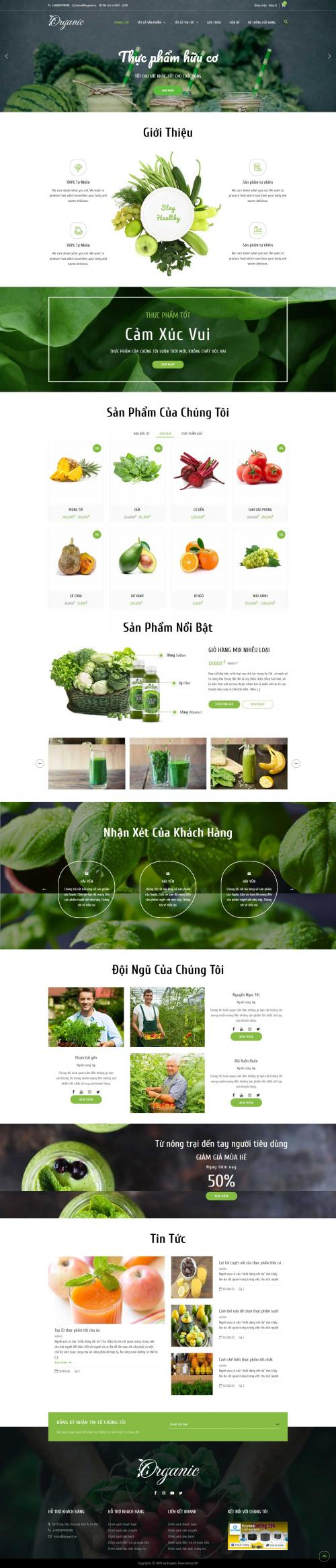 Thực phẩm hữu cơ Organic