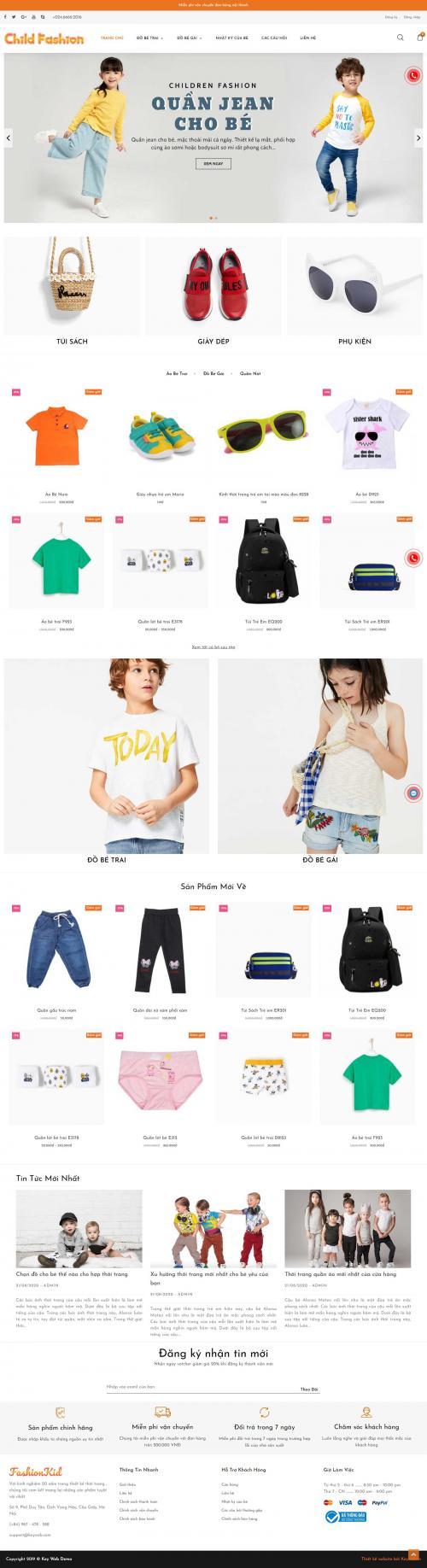 Thời Trang Trẻ Em Child Fashion
