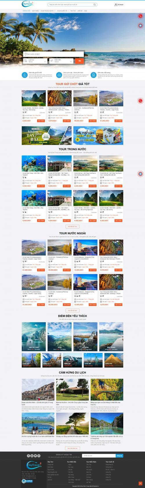 Du lịch SkyTravel