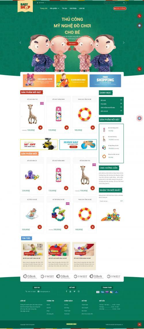 Đồ Chơi Cho Bé Baby Shop