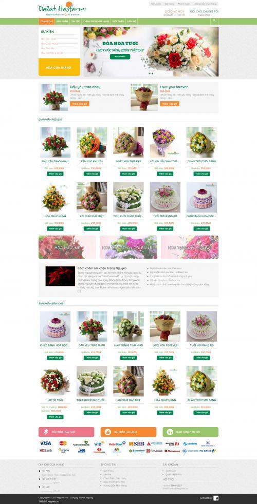 Hoa đẹp Dalat hasfarm