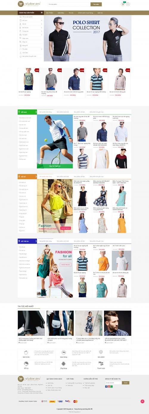 Thời trang Fashion store