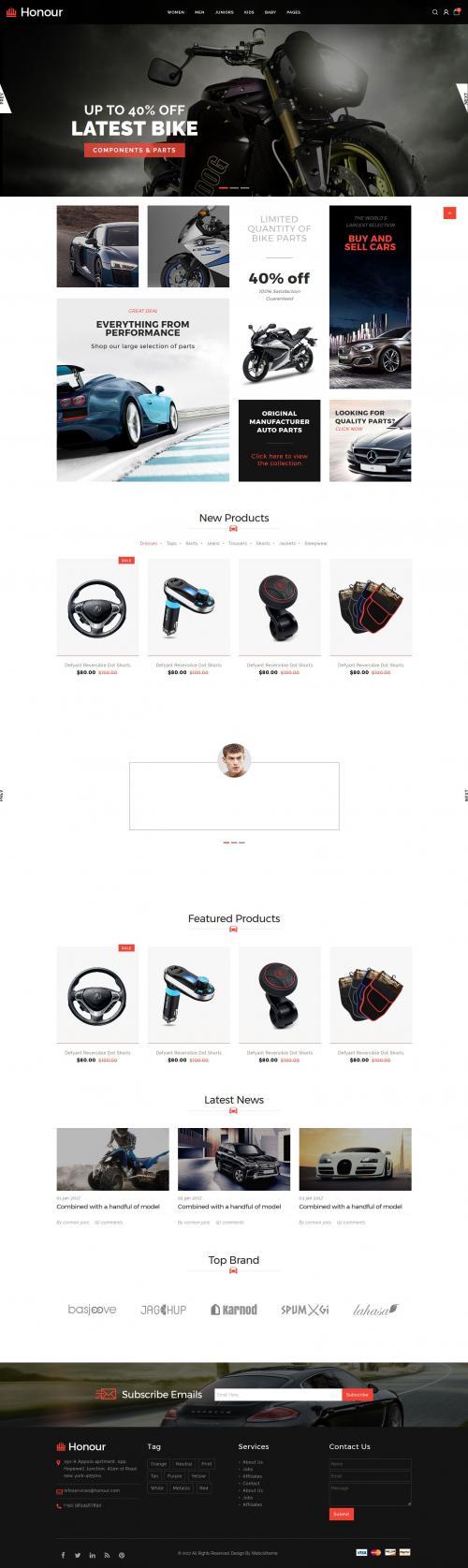 Thiết kế website ô tô,xe máy