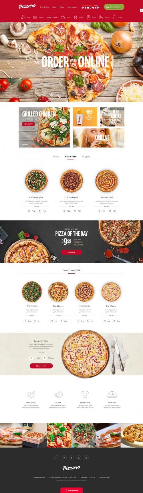 Website ẩm thực,nhà hàng