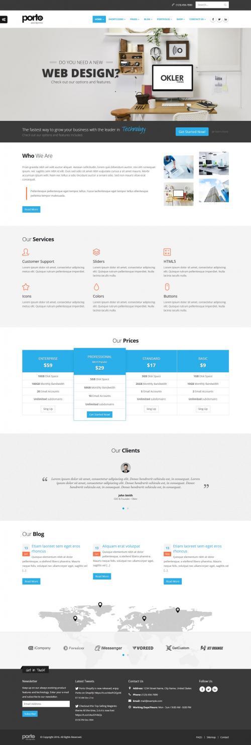 Thiết kế Website công ty-A2