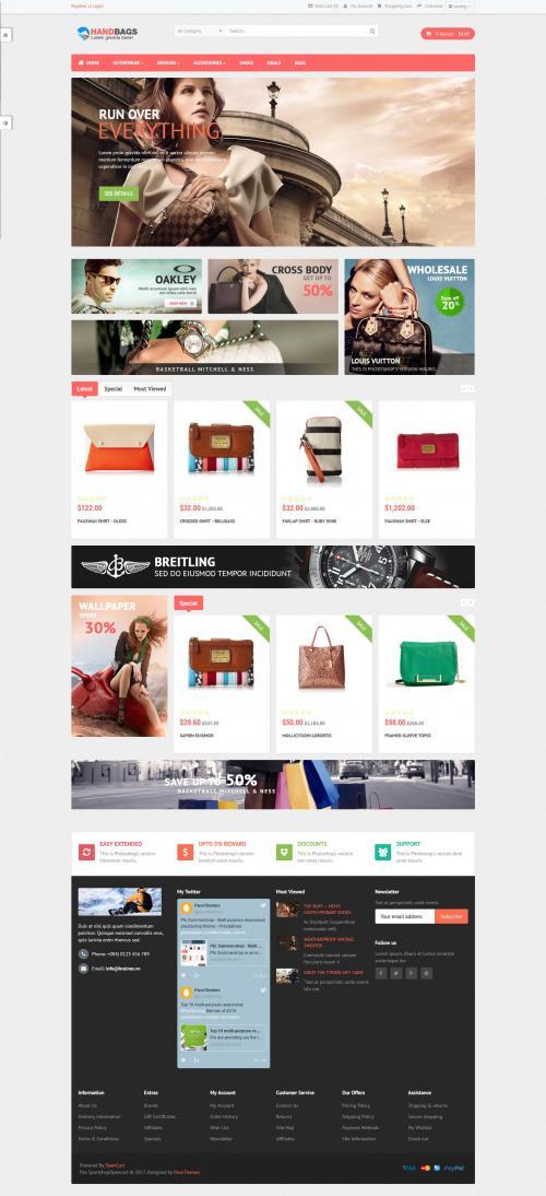 Website bán hàng Thời trang